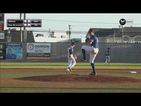 Baseball Canada Cup 2018 Alberta Vs New Brunswick 17U