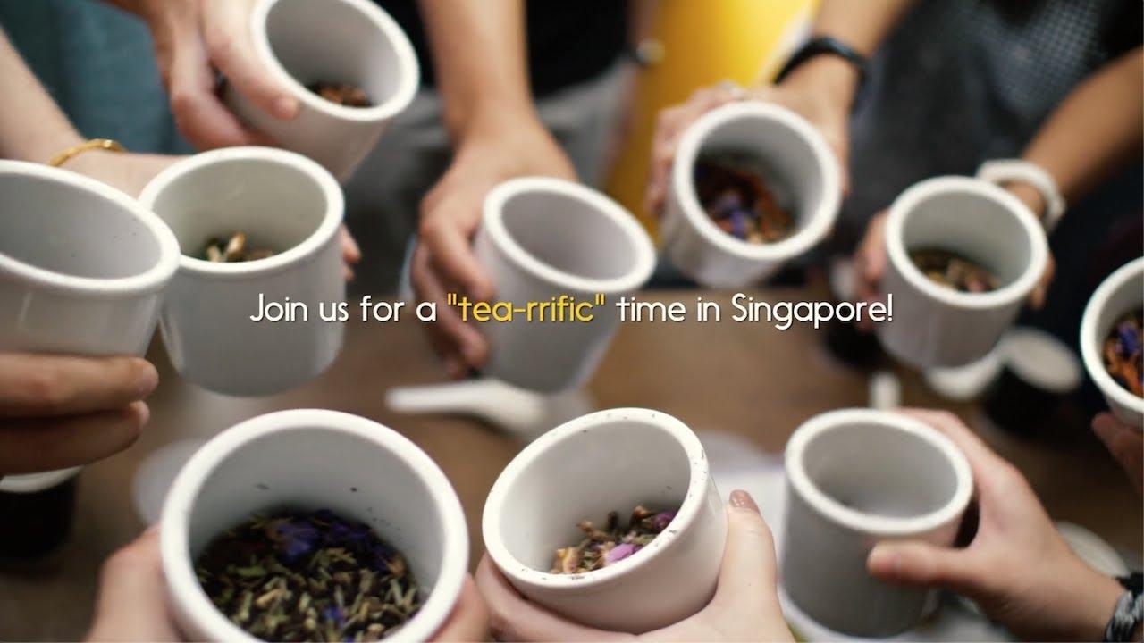 Singapore Tea Experience Tour: A Melting Pot of Tea