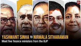 Yashwant Sinha to Nirmala Sitharaman: Meet five finance ministers from the BJP