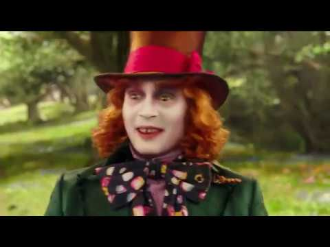 warning the hatter - alice through the looking glass 2016 scene