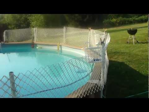 THE BANNED VIDEO - HOW TO INSTALL AN INEXPENSIVE FENCE AROUND YOUR ABOVE GROUND POOL USA
