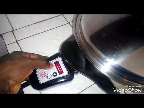 Fish Grilling In The Saladmaster Electric Skillet(badboy)