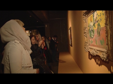 The hidden collection: Iran exhibits contemporary art masterpieces