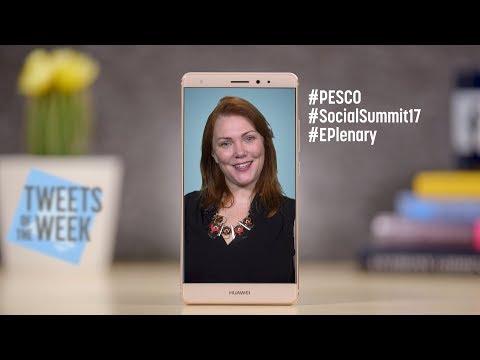 #PESCO, Social summit 2017 EPlenary (Tweets of the Week, Ep. 25)