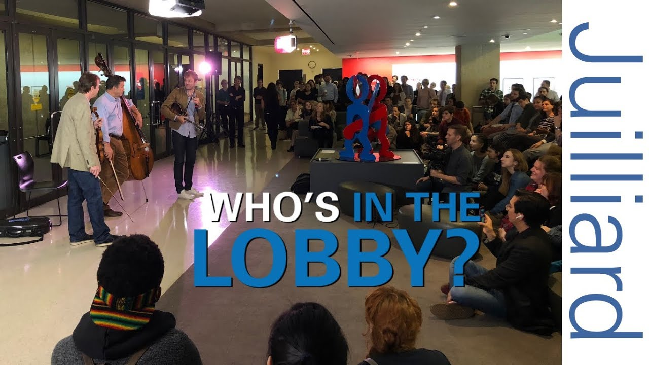 Chris Thile, Edgar Meyer, & Stuart Duncan | Who's in the Lobby at Juilliard