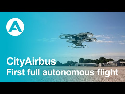 City Airbus - First full autonomous flight