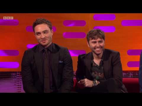 Ed Westwick & James Buckley on Graham Norton Show 5/26/17 [HD]