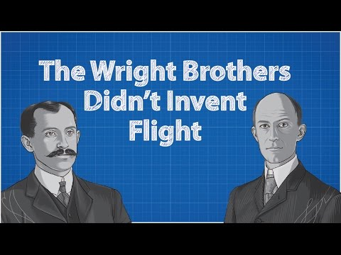 Wright Brothers Didn't Invent Flight