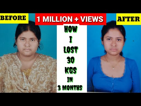 How I Lost 30 Kgs In 3 Months | Weightloss Journey|My Full Day 900 calorie Diet Plan & Workout Plan