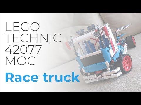Lego Technic 42077 C Model Race Truck Youtube