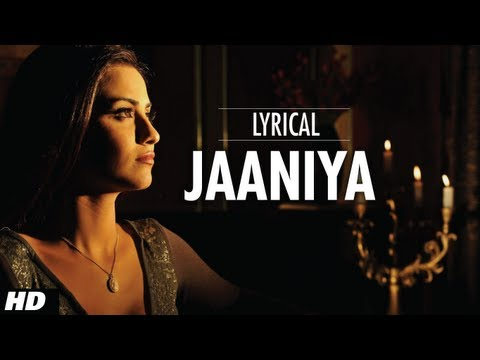 Jaaniya Full Song With Lyrics  Haunted  Mahakshay Chakraborty, Tia Bajpai