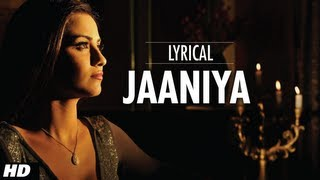 Jaaniya Lyrical |  Haunted - 3D | Mahakshay Chakraborty, Tia Bajpai | Siddharth Basrur