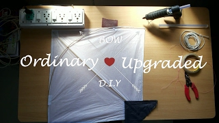 DIY: How to make Heavy Duty and Reliable Homemade BOW & ARROW From KITES. ( Easy & Simple )