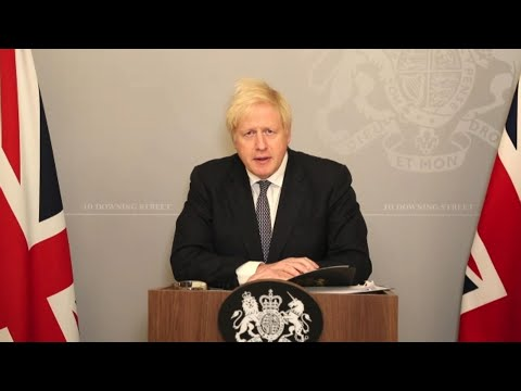 Watch live: PM Boris Johnson holds news briefing on winter COVID plan