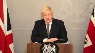 Watch live: PM Boris Johnson holds news briefing on winter COVID plan