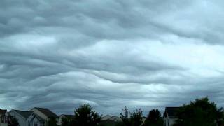 Central PA Asperatus Clouds Timelapse 8/14