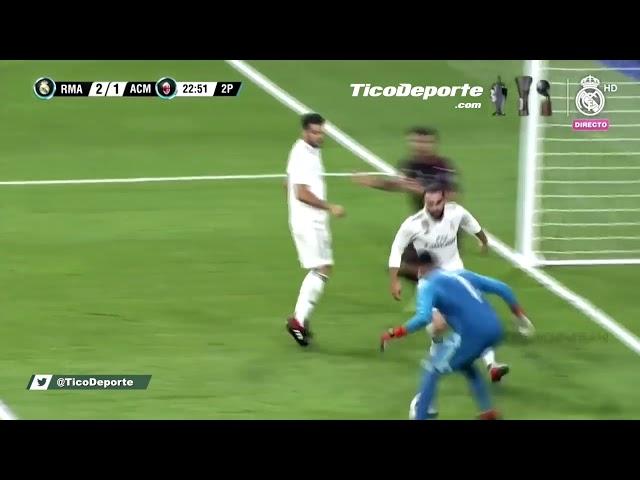 La sangre fría de Keylor Navas que dejó boquiabiertos a todos en el Santiago Bernabéu