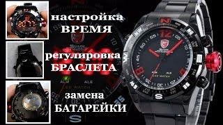 Часы Шарк спорт с AliExpress. Гавно или... Смотри.Shark Sport Watch