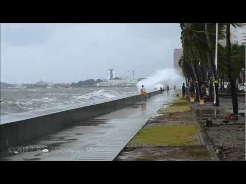 The Mighty Waves of Manila Bay, Philippines