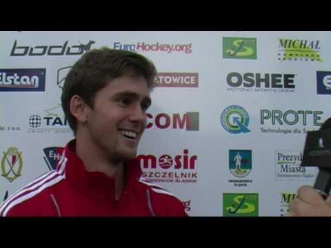 David Beckett Interview after win over France.