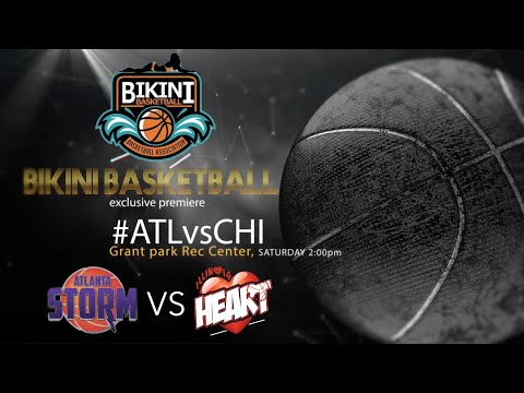 Bikini Basketball game ATL vs CHI PT1