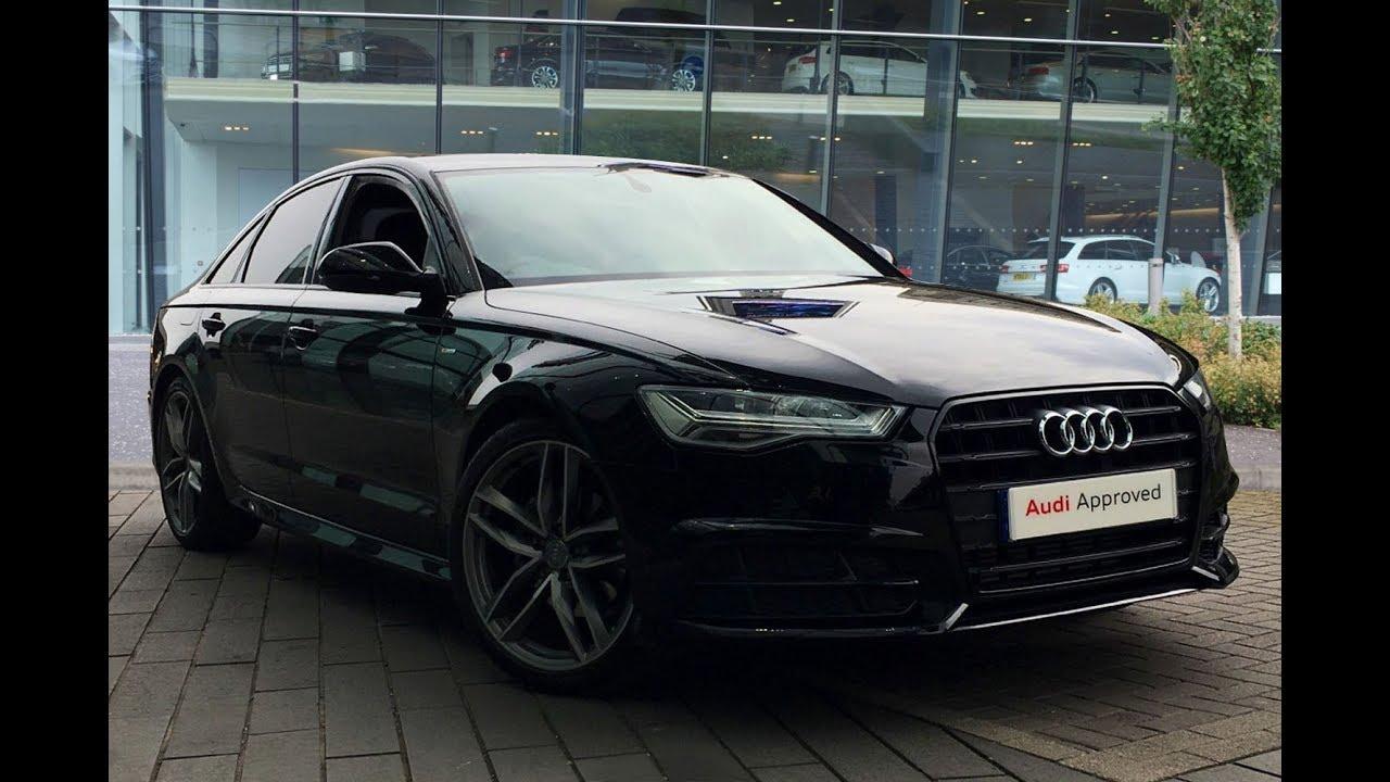 Lb67zrz Audi A6 Tfsi S Line Black Edition Black 2018 West London