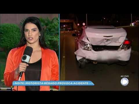 Record TV é atropelado por motorista bêbado enquanto gravava matéria