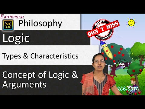 Logic, Types and Characteristics of Arguments