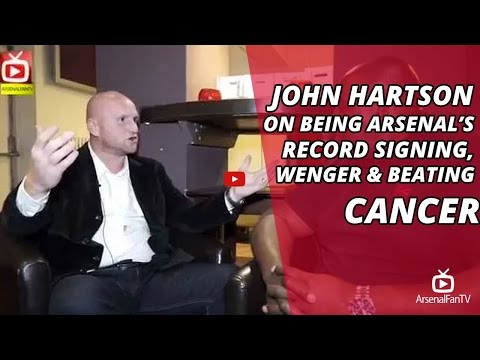 John Hartson on Being Arsenal's Record Signing, Wenger & Beating Cancer