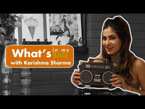 What's in my bag with Karishma Sharma
