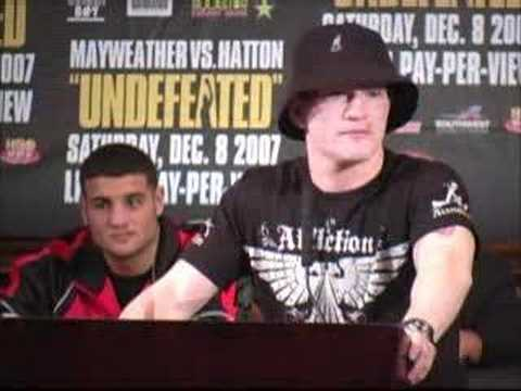 Hatton: 'You've got nothing to worry about, Floyd'