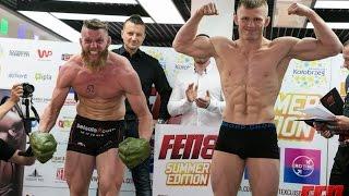 Ważenie FEN 8: Ciekawie na ważeniu Emil Weber Meek 77,4 kg - Albert Odzimkowski 77,4 kg [30.07.15]