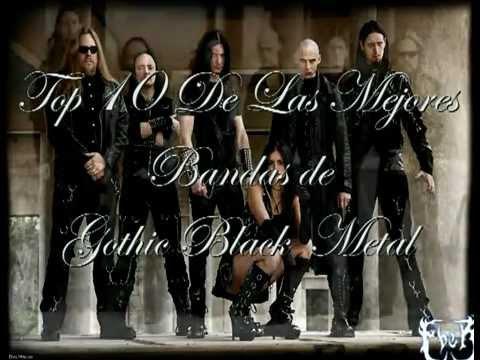 Top 10 Gothic / Black Melodic Metal