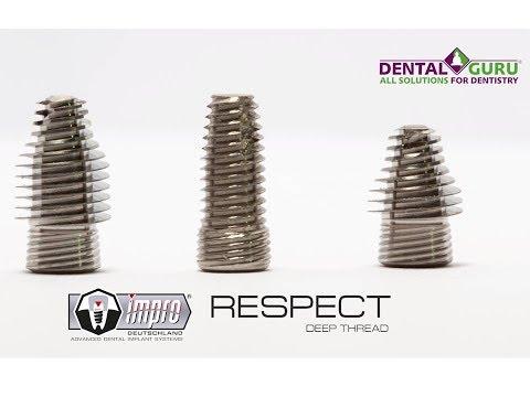 Инновационная линейка имплантатов IMPRO RESPECT Deep Thread