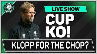 KLOPP Flops Again! LEICESTER 2-0 LIVERPOOL | Plus TOTTENHAM 1-0 BARNSLEY | LEAGUE CUP Review