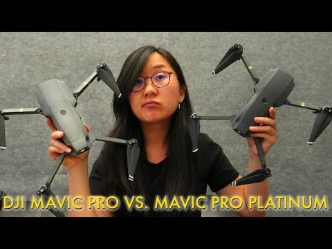 DJI MAVIC PRO PLATINUM— What's the difference? Should you get it?