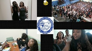 HBCU College Vlog #2: First Day of Classes, 12-2 Day Party