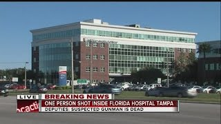 NEWS CONFERENCE: Two dead from shooting inside Florida Hospital in Tampa, shooter dead from self-inf