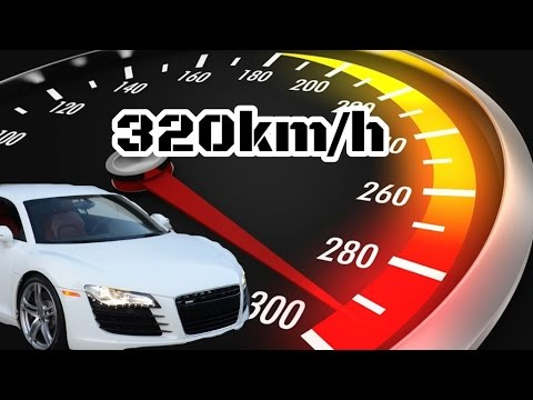 Project CARS Audi R8 320 km/h Top Speed