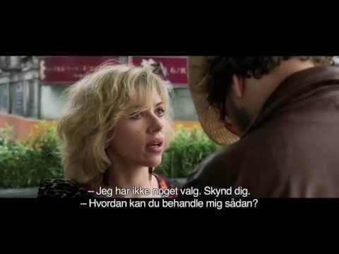 Lucy filmklip med Scarlett Johansson og Pilou Asbæk