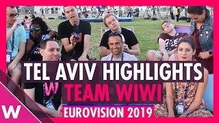 Eurovision 2019: Tel Aviv Highlights with Team Wiwi