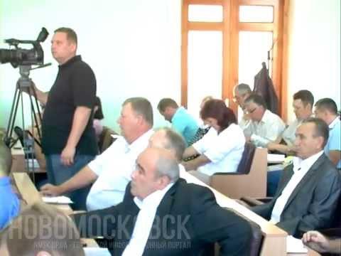 0 57 сессия Новомосковского горсовета (июль 2015)