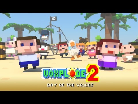 VOXPLODE 2: Day of the Voxies Trailer - iOS, Android
