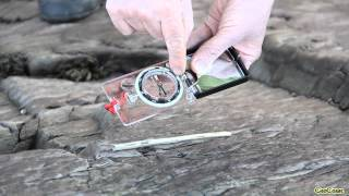 GEOCOAST - Using Geological Compass:  Measuring Lineation