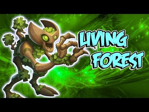 LIVING FOREST EL GUARDIAN !! Review Monster Legends