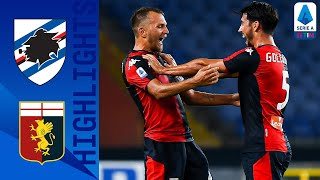 Fiery derby della lanterna in genova, where genoa stunned their city rivals and ended the sampdoria winning streak   serie a tim this is official channel...