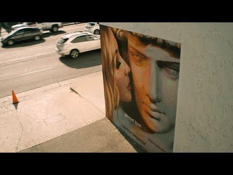 Almost Love  Los Angeles Mural  Sabrina Carpenter