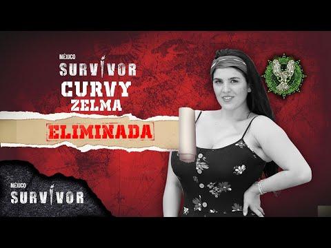 Curvy Zelma se despide de Survivor México. | Survivor México