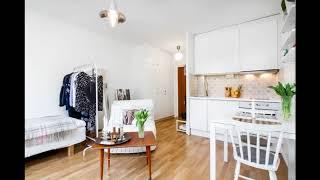 Дизайн квартиры студии 20 кв м для Cleverland
