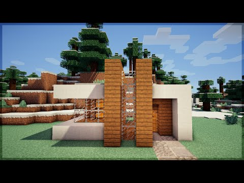 Minecraft xbox edition tutorial casa moderna 1 for Casa moderna 4x4